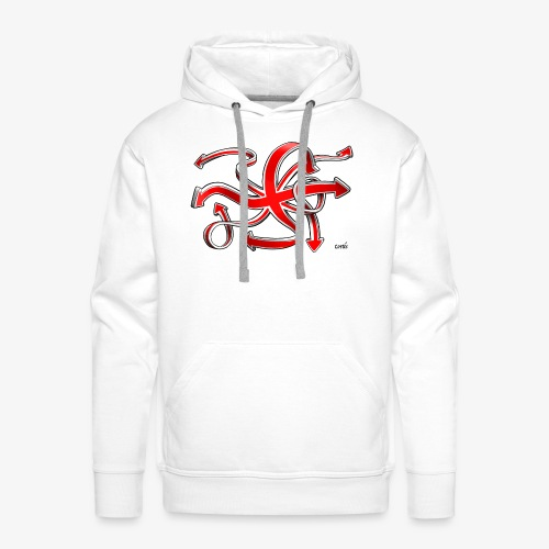 Brexit - Mannen Premium hoodie