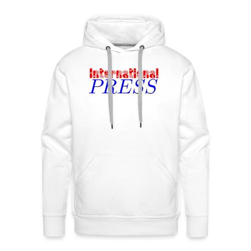 int_press-png - Felpa con cappuccio premium da uomo