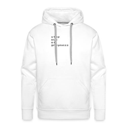 stepout152 - Sweat-shirt à capuche Premium pour hommes