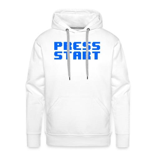 Press Start - Felpa con cappuccio premium da uomo