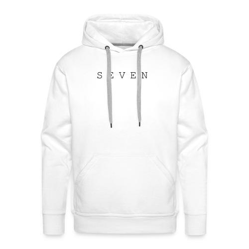 SEVEN - Sweat-shirt à capuche Premium pour hommes