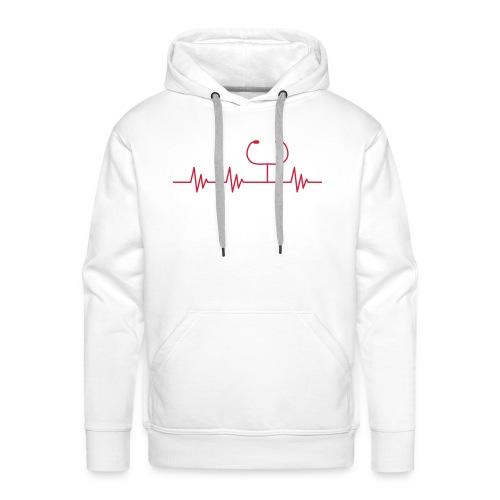 Puls Herzschlag Arzt - Männer Premium Hoodie