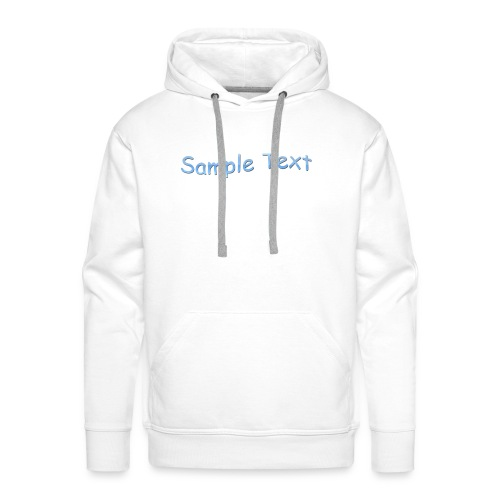 SAMPLE TEXT CAP - Men's Premium Hoodie