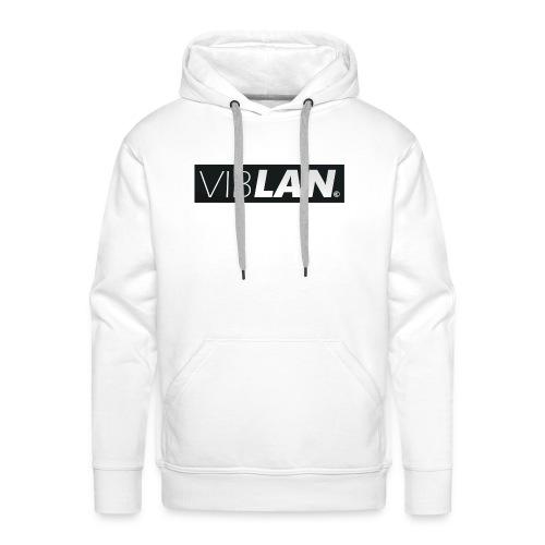 VibLAN_LOGO - Herre Premium hættetrøje