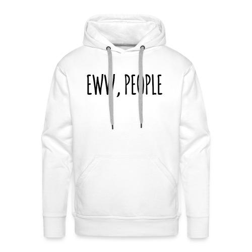 EWW, PEOPLE - Felpa con cappuccio premium da uomo