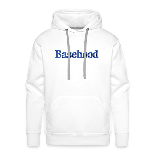 Basehood Basic Logo - Mannen Premium hoodie