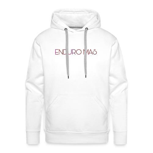 Enduro MAS - Sweat-shirt à capuche Premium pour hommes
