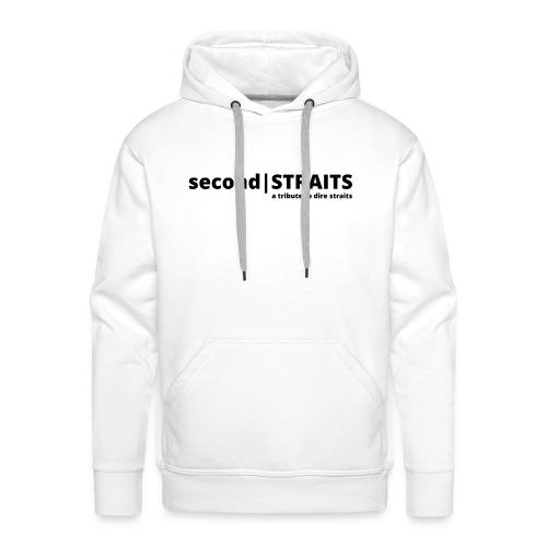 secondSTRAITS_01_black - Männer Premium Hoodie