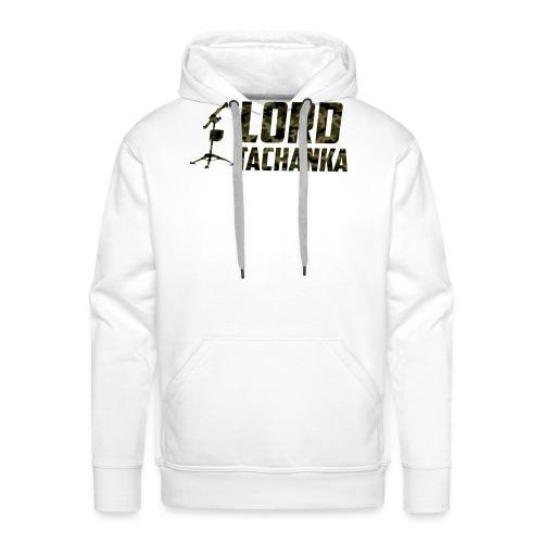 Lord Tachanka logo - Felpa con cappuccio premium da uomo