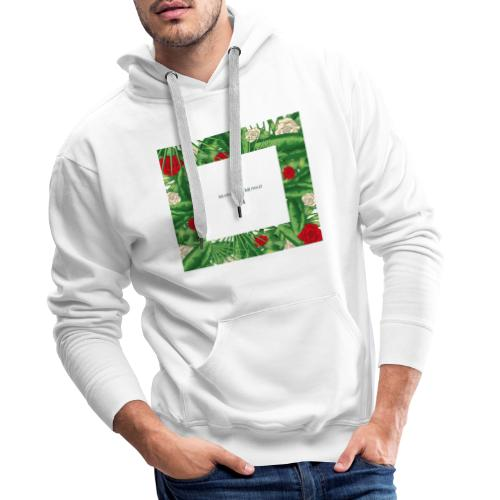 Urban Jungle | Tropical Square - Männer Premium Hoodie