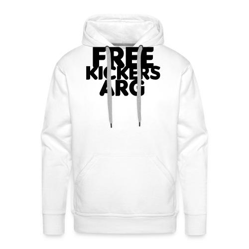T SHIRT FREEKICKERSARG - Sudadera con capucha premium para hombre