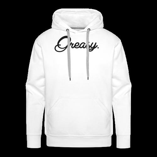 Greasy T-Shirt - Mannen Premium hoodie