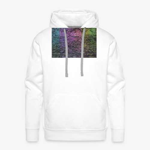 Regenbogenwand - Männer Premium Hoodie