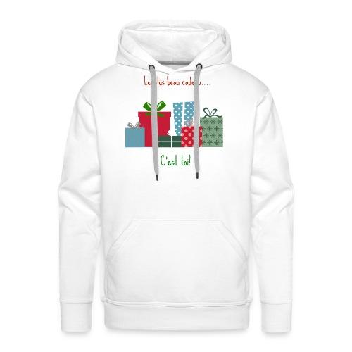 Le plus beau cadeau - Sweat-shirt à capuche Premium pour hommes