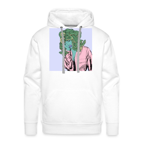 medusa_crying-jpg - Sudadera con capucha premium para hombre