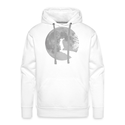 rabbit_wolf-png - Men's Premium Hoodie