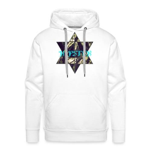 hipster - Mannen Premium hoodie