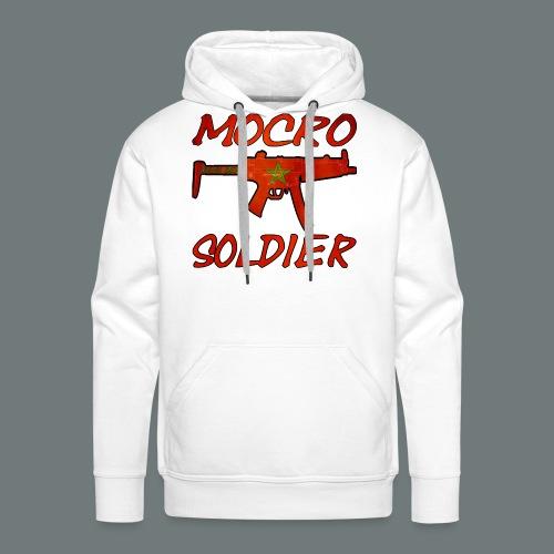 Mocro Soldier Trui (Heren) - Mannen Premium hoodie