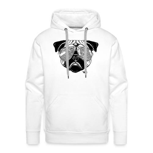 Lex à Lunettes - Sweat-shirt à capuche Premium pour hommes