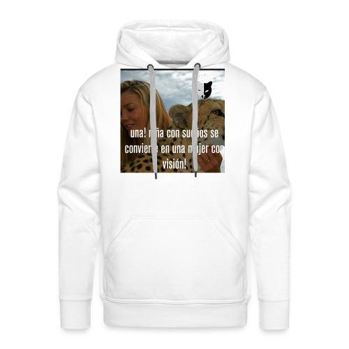 Women girls - Sudadera con capucha premium para hombre