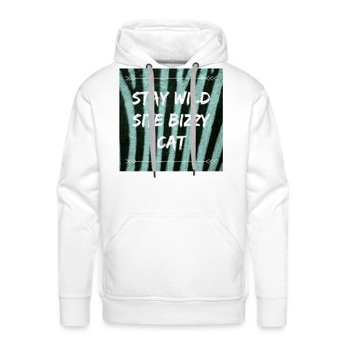 Bizzy cat - Mannen Premium hoodie