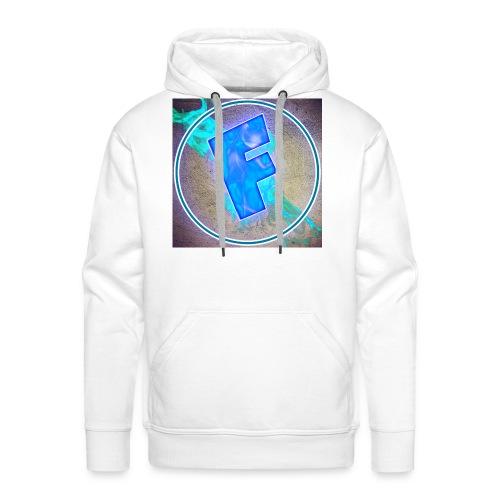 logo flowing82 v3 1 - Sweat-shirt à capuche Premium pour hommes