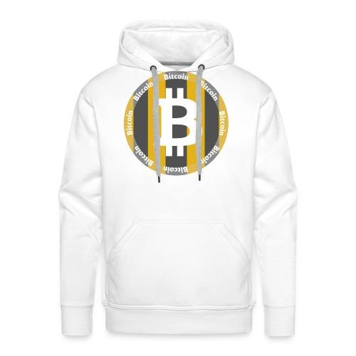 BitCoin | Dein Statement zur Kryptobewegung - Männer Premium Hoodie