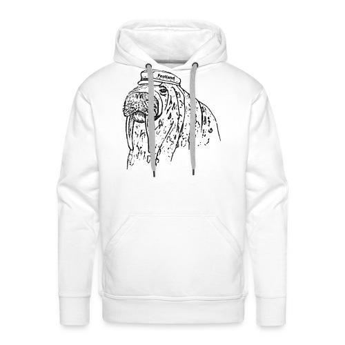 festland walrus - Männer Premium Hoodie