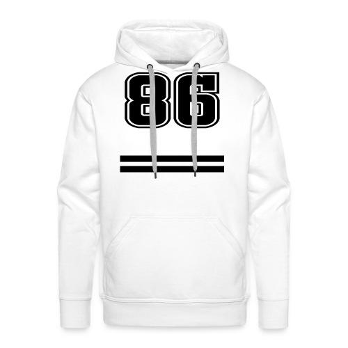 86 - College Style - Männer Premium Hoodie