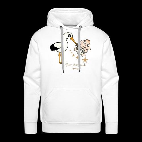 Foot futur champion - Sweat-shirt à capuche Premium pour hommes