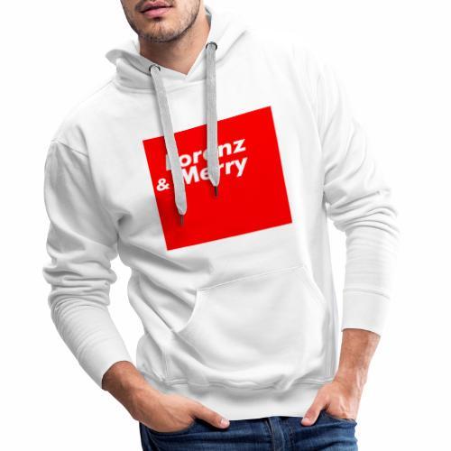 Lorenz & Merry   Original collection - Sweat-shirt à capuche Premium pour hommes