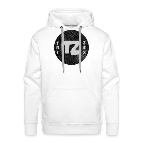 Trizex Logo Volledig - Mannen Premium hoodie
