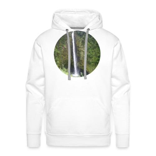 Hawaii Big Island Wasserfall - Männer Premium Hoodie
