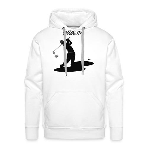 Sport de golf - Sweat-shirt à capuche Premium pour hommes