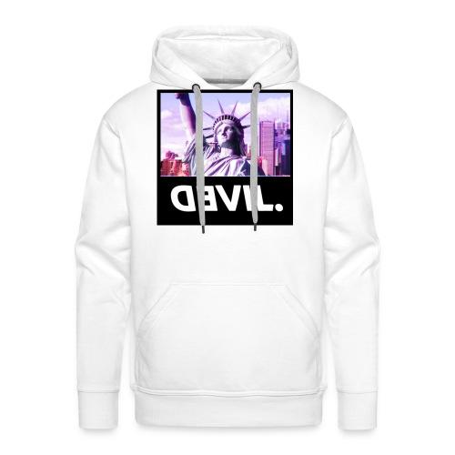 DEVIL. - Sweat-shirt à capuche Premium pour hommes