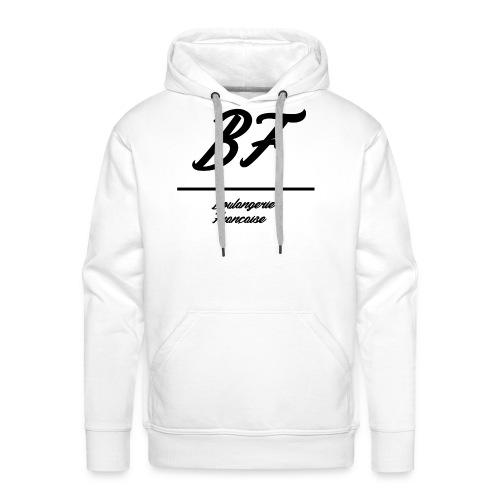 Boulangerie Française - Sweat-shirt à capuche Premium pour hommes