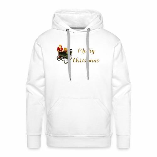 Merry Christmas - Sweat-shirt à capuche Premium pour hommes