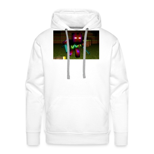 AwesomeSauce Minecraft 2 Swords - Men's Premium Hoodie