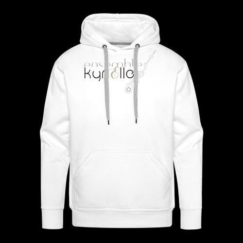 Ensemble Kyrielle - Logo - Sweat-shirt à capuche Premium pour hommes