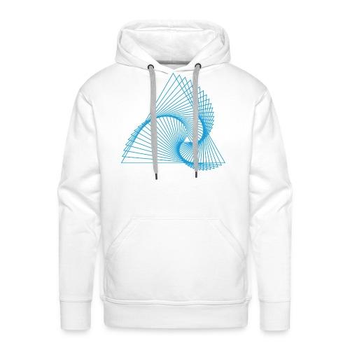 Spirangle - Sweat-shirt à capuche Premium pour hommes