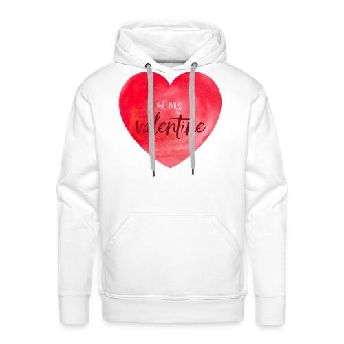 Cœur st.valentin - Sweat-shirt à capuche Premium pour hommes