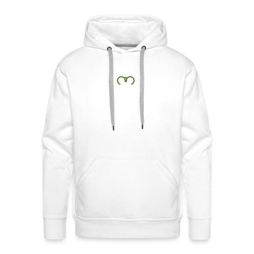 Smartphone Addiction Girl Men - Mannen Premium hoodie