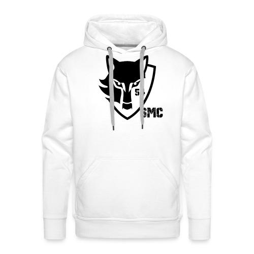 loup noir - Sweat-shirt à capuche Premium pour hommes