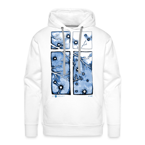 Für immer und ein Tag (blau) - Männer Premium Hoodie