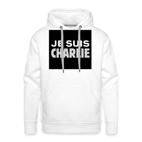 Je_suis_Charlie-svg-png - Mannen Premium hoodie