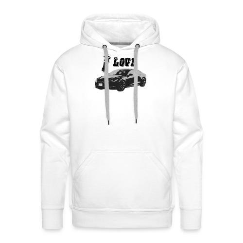 Tesla Model S - Mannen Premium hoodie