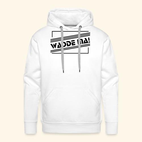 Wadde ma! RETRO-Style - Männer Premium Hoodie