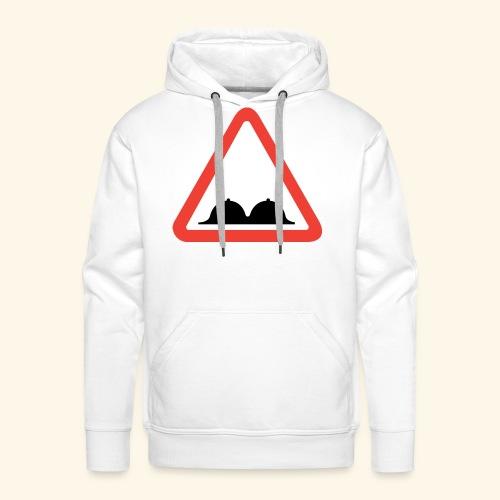 warning - Männer Premium Hoodie