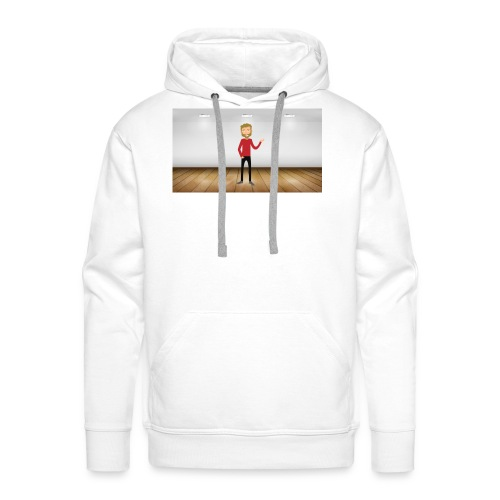 Youtubeman-png - Sudadera con capucha premium para hombre