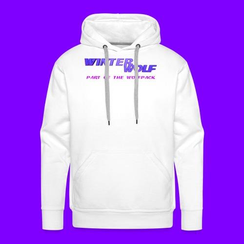 WINTERWOLF LOGO Part of The Wolfpack T-shirt - Mannen Premium hoodie